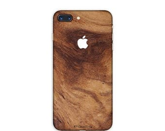 WOOD iPhone Skin WOOD iPhone Sticker Case wood texture iPhone Decal wood pattern iPhone 7  plus iPhone 6 iPhone 6s 6 plus 5 5s SE Ps040