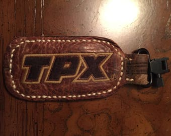 Large TPX Baseball Glove Leather Keychain - Free Shipping