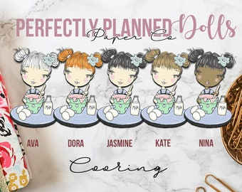009 | Cooking | Planner Dolls // Character Planner Stickers