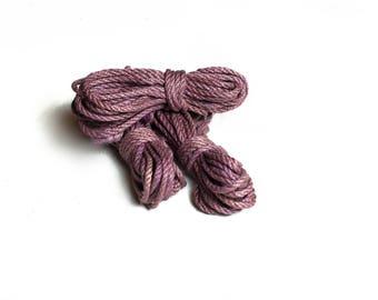 Purple Shibari Jute Rope / suspension bondage kinbaku asanawa shibari rope jute bondage rope