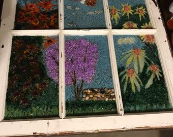 Mosaic Window- Summer