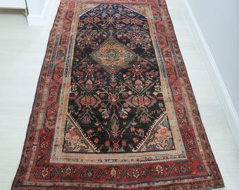 4'x7' Vintage Persian Rug
