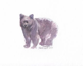 """4 x 6"""" Made to Order Watercolor 