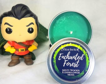 Enchanted Forest- Fairytale Inspired- Soy Vegan Candle