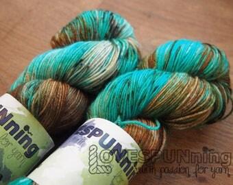 Pompaladin Superwash Merino - hand dyed yarn