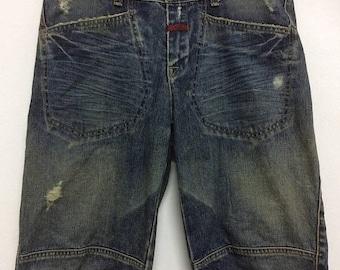 OFF SALE 20% Marithe Francois Girbaud Men's Distressed Denim Jeans