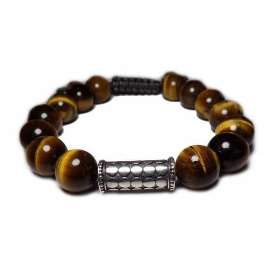 The Tiger eye bracelet