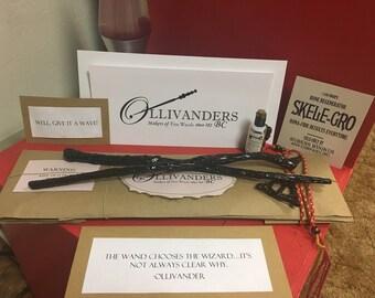 Harry Potter Wand Kit, Harry Potter Inspired Wand Kit, harry potter wands, harry potter wand kit, wizard wand kit