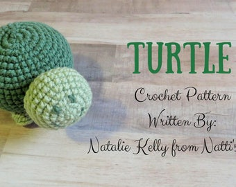 Turtle Crochet Pattern PDF Download