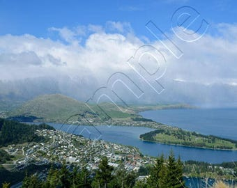 Queenstown, NZ - Instant Download