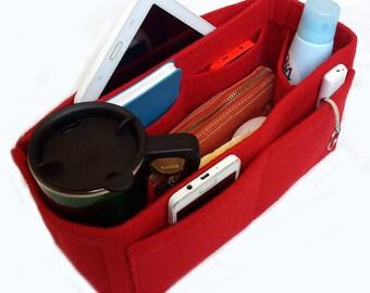 Bag Purse Organizer, Purse Organizer, Bag organizer, Organizer for Louis Vuitton, Felt Purse Organizer, Purse insert organizer, Bag insert