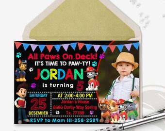 Paw Patrol Invitation/Paw Patrol/Paw Patrol Birthday/Paw Patrol Birthday Invitation/Paw Patrol Party,Paw Patrol Invites,Paw Patrol Download