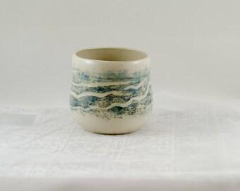 2 Handmade Pottery Mug - Coffee/Tea Mug - Toronto Pottery Studio