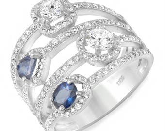 Rings, Jewelry, Womens Rings, Gold Rings, 14k Gold Ring, Sapphire Diamond Ring, Custom Ring, Custom Jewelry, Multi Color Stones, Sapphires
