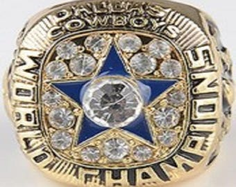 Custom Replica Dallas Cowboys 1971 Super Bowl Ring