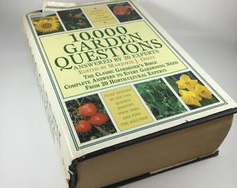 10,000 Garden Questions Answered by 20 Experts, 1982