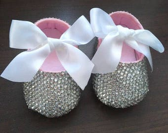 Bling Crib Shoes