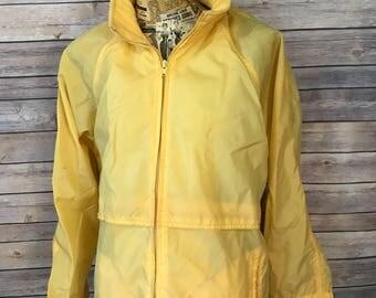 Vintage Eddie Bauer Rain Windbreaker Jacket (Women M)