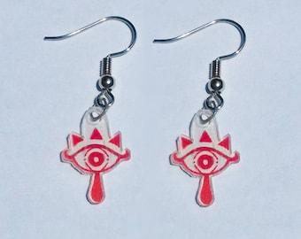 Sheikah Earrings (unofficial Legend of Zelda earrings)