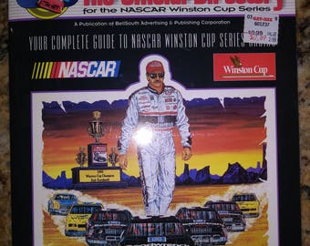 Official Directory For Nascar Winston Cup Series 1995 With Dale