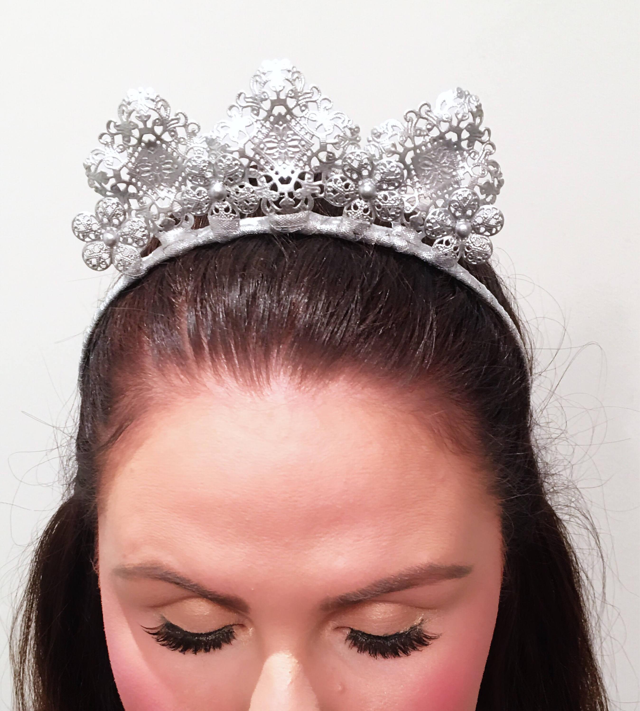 Silver crown silver flower crown crown metal crown silver silver crown silver flower crown crown metal crown silver headpiece izmirmasajfo