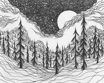 """Lucas Allen Cook """"Rolling Mist"""""""