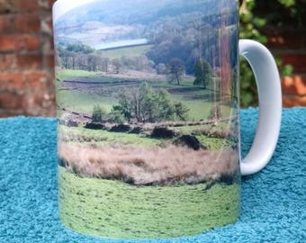 Goyt Valley mug-photograph-landscape-picture-peak district-ceramic mug