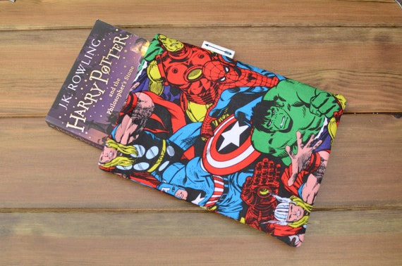 Marvel Avengers Book Sleeve