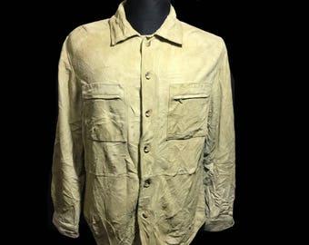 Vintage Timberland 100% Leather jacket genuine