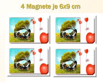 """Magnetic """"Happy Birthday"""""""
