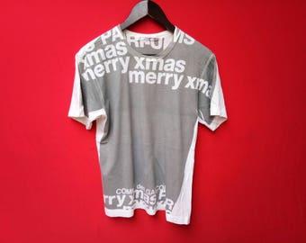 vintage comme des garcons medium size tshirt