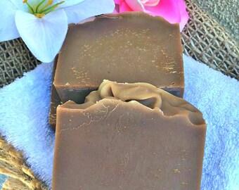 Honey Almond Milk Cold Process Soap, All Natural Soap, Bar Soap, Artisan Soap, Women's Gift, Soap, Artisan Soap, Wedding Gift