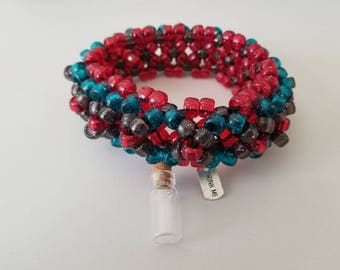 Single Row 3D Kandi Cuff