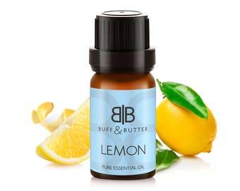 Lemon Essential Oil 100% Pure Natural Fragrance Aromatherapy For Cold & Flu - 10ml, 30ml, 50ml, 100ml Bottle