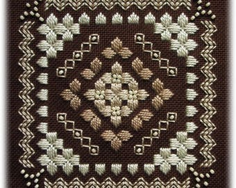 Hardanger embroidery - Shades
