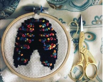 Rib Cage cross stitch