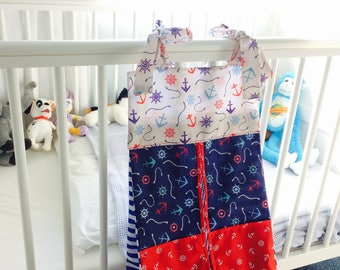 Nappy Holder/Stacker (Nautical)