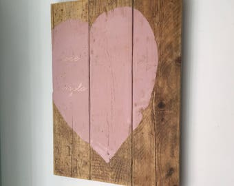 Love is simple. Perfect as a wedding gift, home decor.