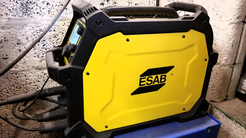 ESAB EMP 215ic Welder.