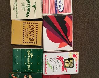 Vintage matches #5