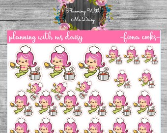 Fiona Cooks Stickers