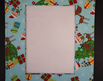 Fabric Picture Frame for Cross-stitch, Needlework,or Photos