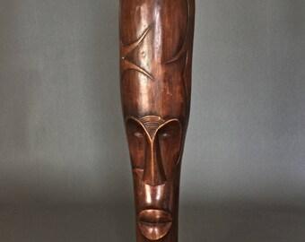 African tribal art - wooden mask.