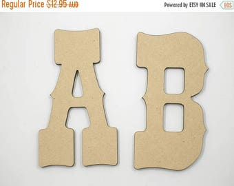 20% OFF 30cm MDF Wood Wooden Letters 3mm Thick WES