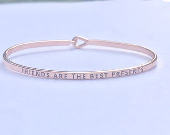 Inspired bangle bracelet
