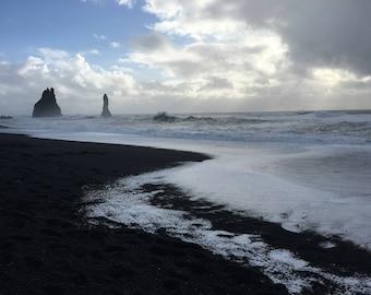 Black Sand Beach - Vik, Iceland