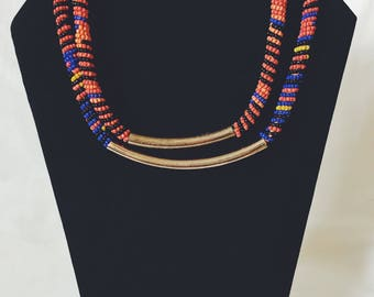 African Beaded Neclace