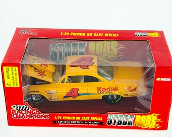 Limited Edition Racing Champions Stock Rods #4 Kodak 1/24 Scale Diecast Model