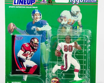 Starting Lineup 1998 NFL Jerry Rice Action Figure - San Francisco 49ers