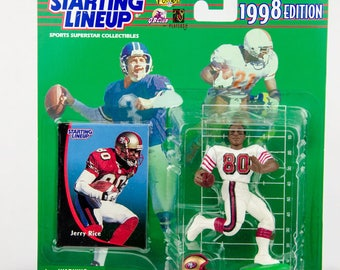 Starting Lineup 1998 NFL Jerry Rice Action Figure San Francisco 49ers